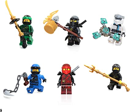 LEGO Minifigure Ninjago Jay with suit /& Sword Ninjago sets