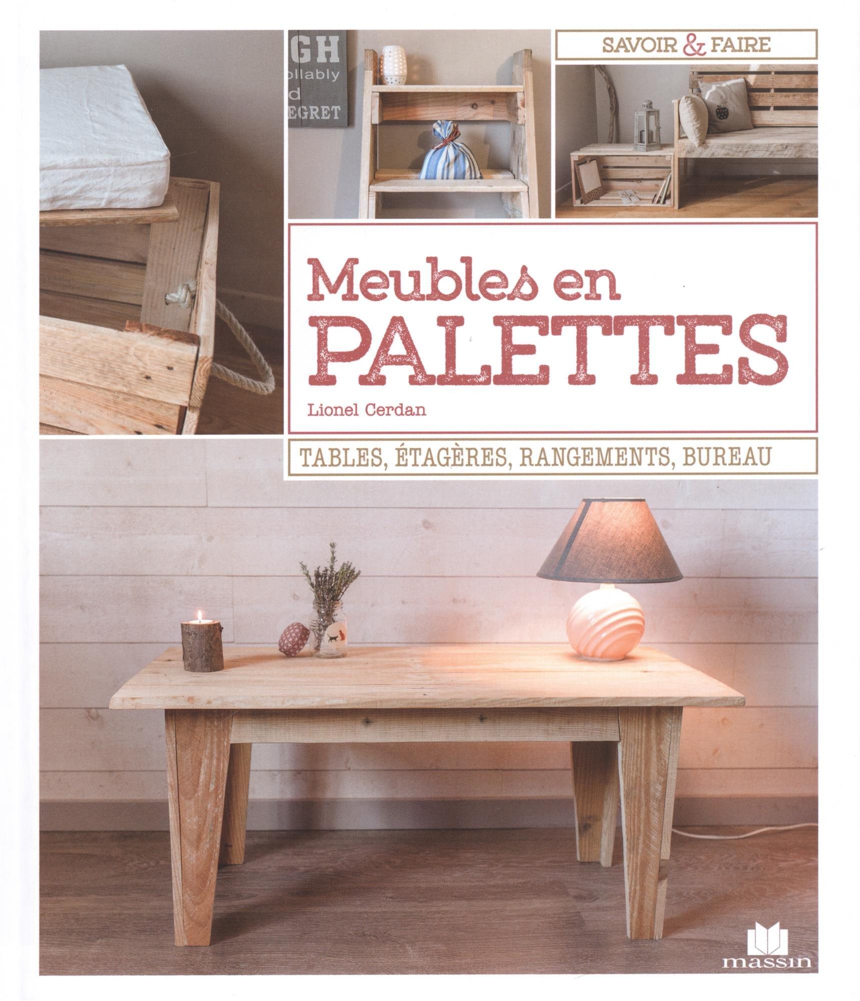 Amazon Fr Meubles En Palettes Cerdan Lionel Livres