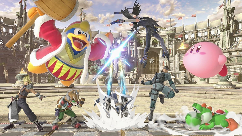 Amazon com: Super Smash Bros  Ultimate + Super Smash Bros