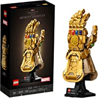 LEGO Marvel Infinity Gauntlet 76191 Collectible Building Kit; Thanos Right Hand Gauntlet Model with Infinity Stones (590…