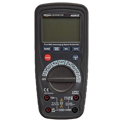 Commercial 4000 Count Compact Digital Multimeter, IP67, True RMS, CATIV 600V: Industrial & Scientific [5Bkhe0407847]