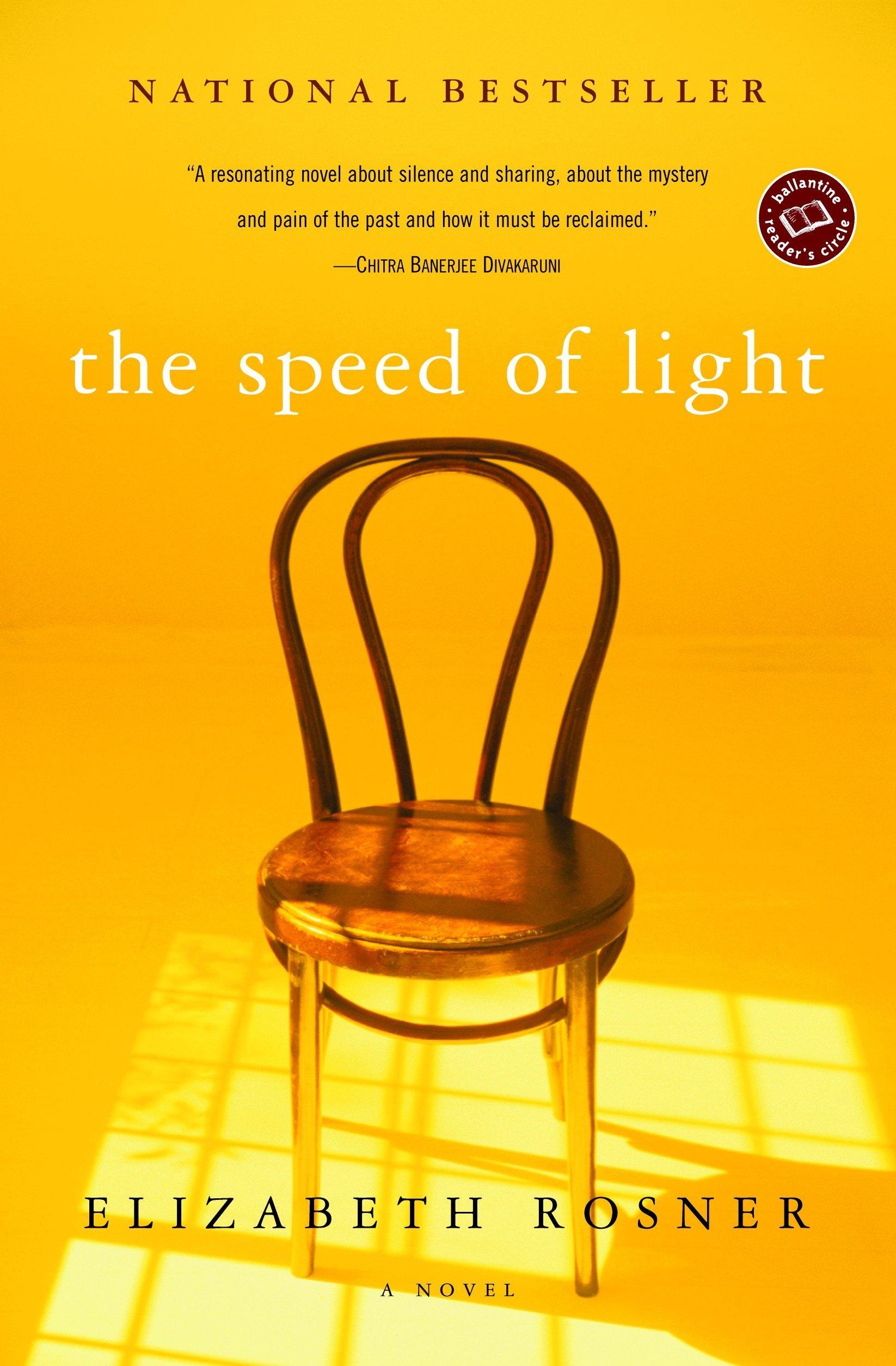 The Speed of Light: A Novel (Ballantine Reader's Circle): Elizabeth Rosner:  9780345442253: Amazon.com: Books