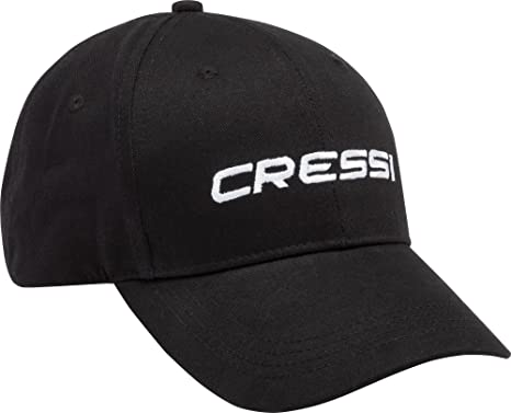 Cressi Cap Gorra, Hombre, Negro, Uni: Amazon.es: Ropa y accesorios