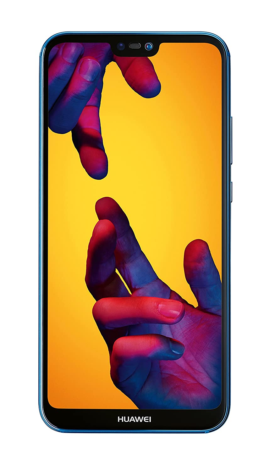 Huawei P20 Lite 64 GB/4 GB Dual SIM Smartphone - Klein Blue (West European Version)