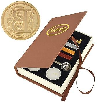 Amazon.com: Set de lacres para sellos de la marca Samyo ...
