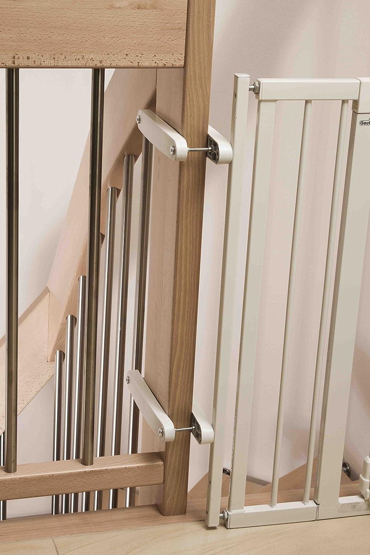 Geuther Zusatzklemmen f/ür Umbau zum Treppengitter Vario Safe