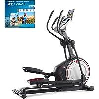 Proform Endurance 520 E Vélo elliptique, roue avant, compatible Bluetooth Appli iFit Cardio, rampe d'inclinaison 0-20°, 20 programmes, 20 niveaux de résistance, Usage Sport, Fitness, Bien-être