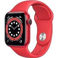 Apple Watch Series 6 (GPS, 40-mm) kast van PRODUCT(RED) aluminium - PRODUCT(RED) sportbandje