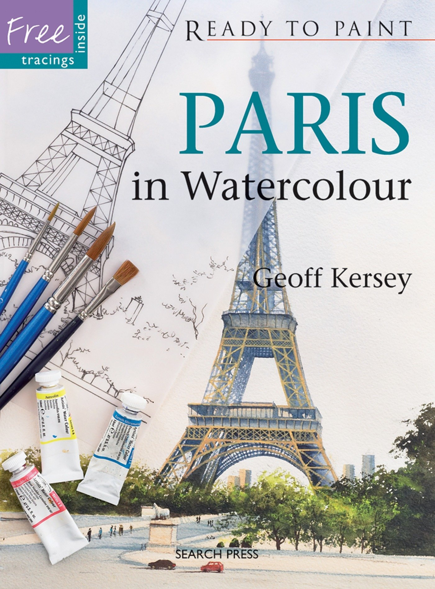 Download Paris in Watercolour (Ready to Paint) pdf epub