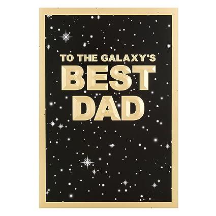 Hallmark Star Wars – Tarjeta de felicitación para el día del padre Epic Action Hero – Medium