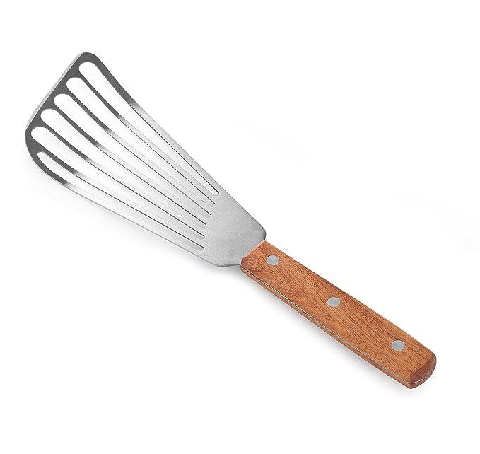 Amazon.com: Paleta para pescado con mango de madera, hoja de ...