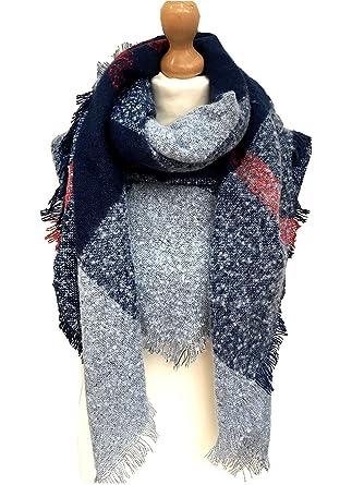 cfaf5e50192 Isabelle Boutique - Echarpe - Femme - noir - X-Large  Amazon.fr ...