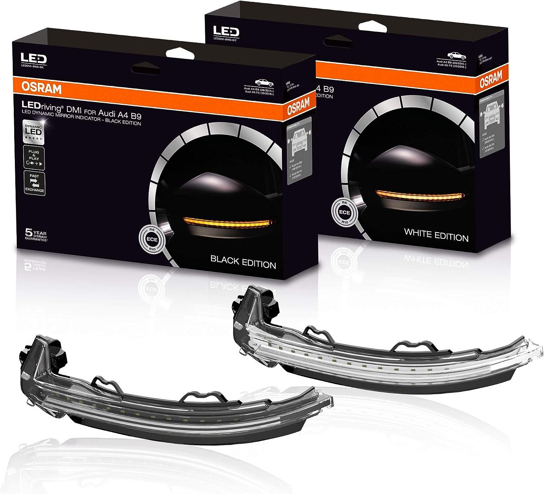 Osram Leddmi 8w0 Wt S Ledriving Dynamischer Led Spiegelblinker White Edition Set Of 2 Auto