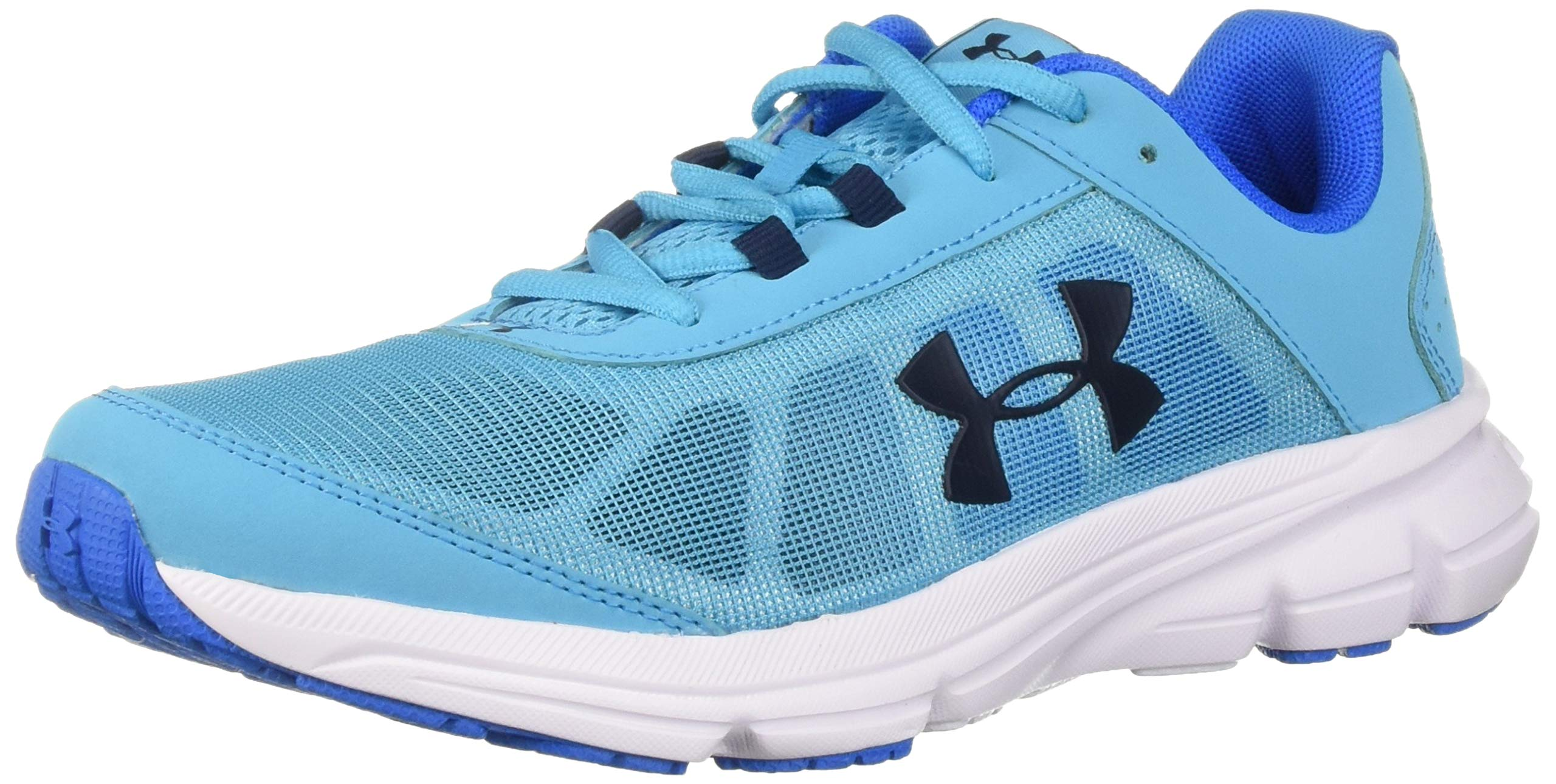 Under Armour Girls' Grade School Rave 2 Sneaker Alpine (301)/Blue Circuit 3.5 by Under Armour (Image #1)
