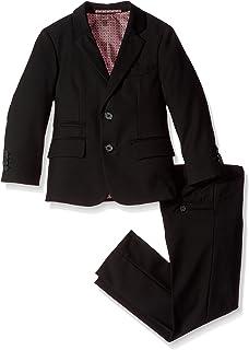 Isaac Mizrahi Boys 3-Piece Pindot Suit