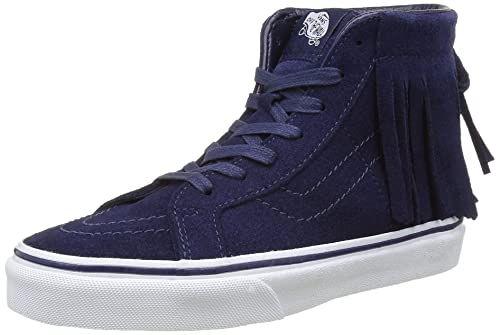 09129e910dab39 Image Unavailable. Image not available for. Color  Vans Sk8 Hi Moc Suede ...