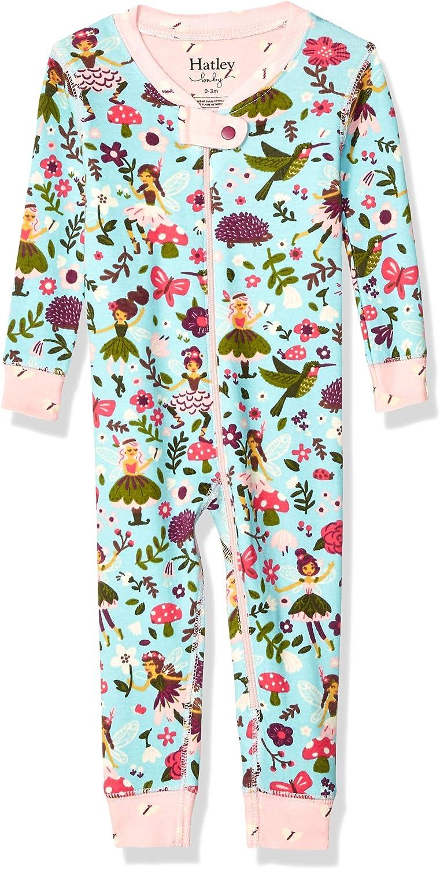 Hatley Baby Girls Organic Cotton Sleepers