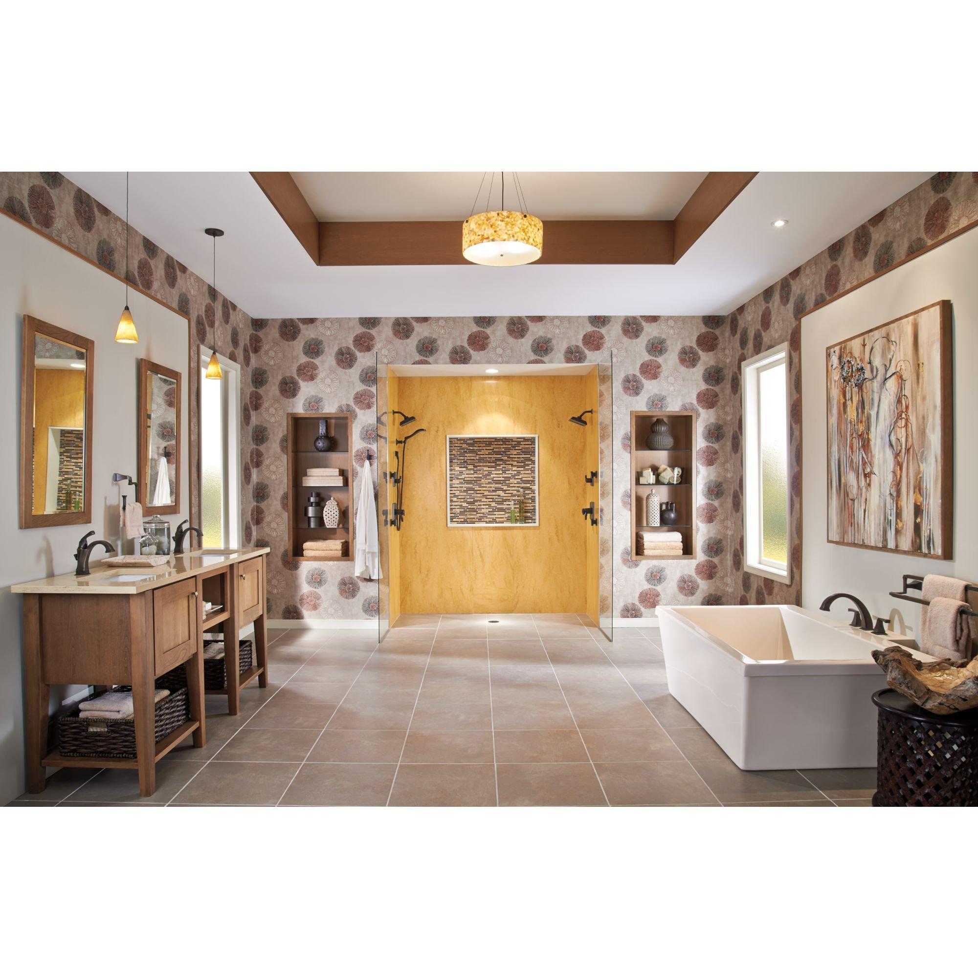 Delta Faucet 75125-RB Dryden 24'' Double Towel Bar, SpotShield Venetian Bronze by DELTA FAUCET (Image #2)