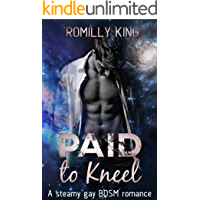 Paid to Kneel: A steamy gay BDSM romance - Delphic Agency Book One book cover