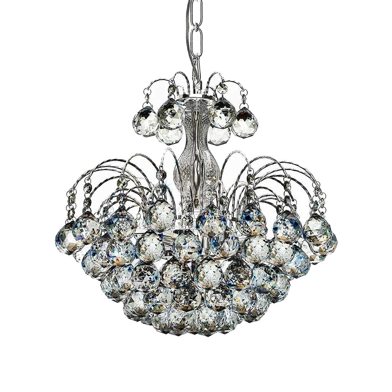 Kristal lámpara de techo, lámpara cristal cristal, Gotas ...