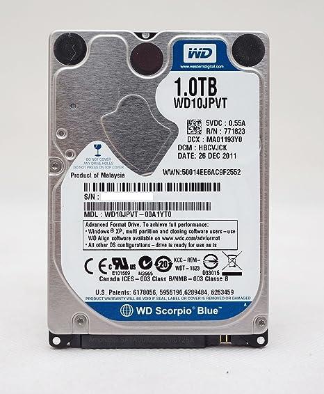 Western Digital - Disco Duro, 1 TB, 2,5