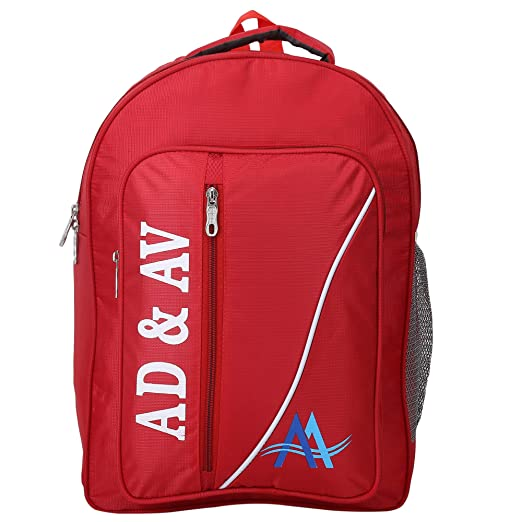 AD & AV Casual Backpack 124_ADAV_TEDHILINE_RED_Backpack