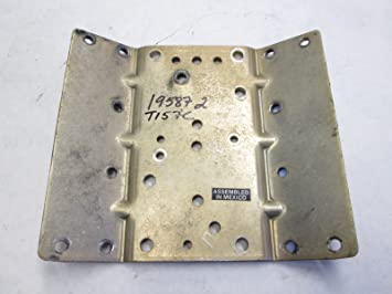 19587 2 Mercury Mariner Outboard Ignition Coil Mount Plate
