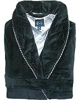 Majestic International Men's Satin Lined Smoking Jacket