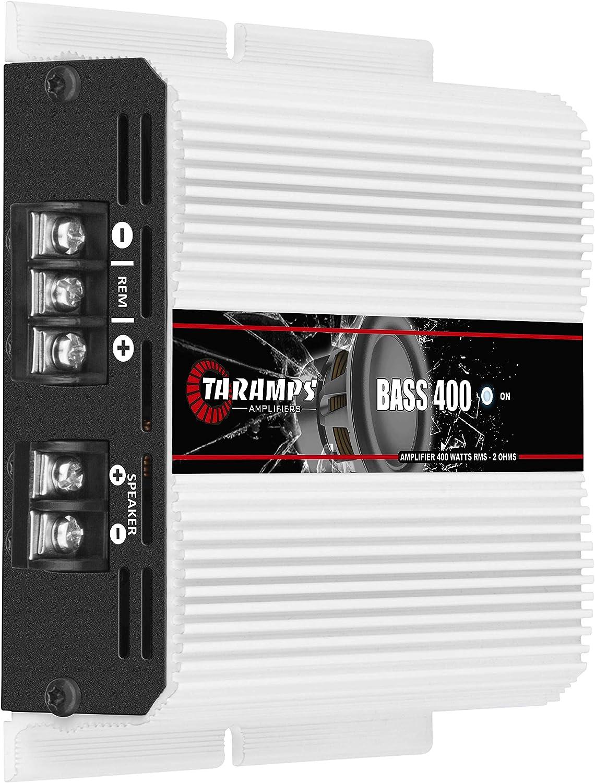 Taramps BASS 400 2 Ohms 400 Watts Class D Full Range Mono Amplifier