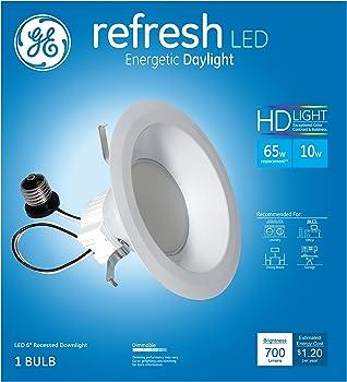 GE LED Refresh HD 10W 700-Lumen 6