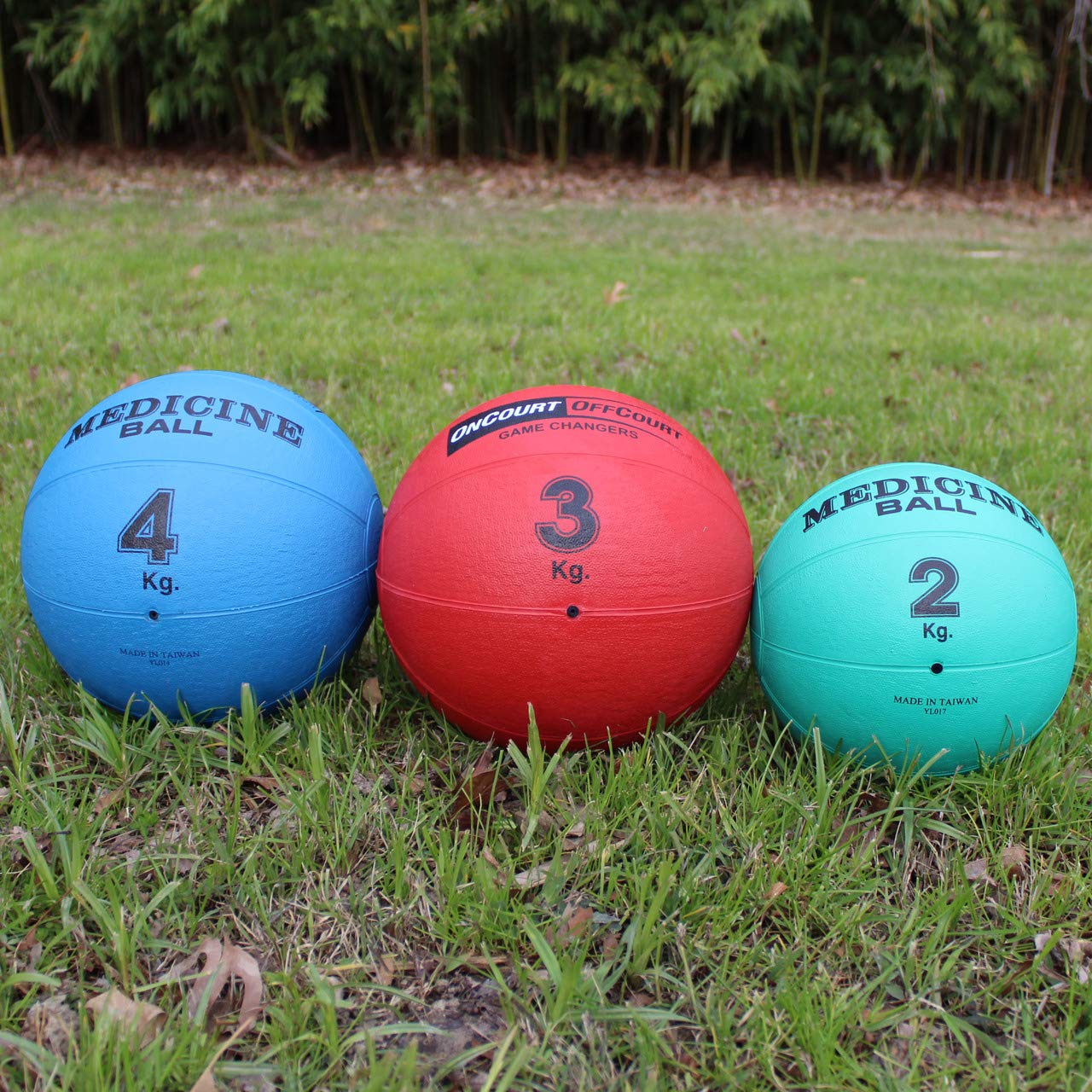 Oncourt Offcourt Medicine Ball - Available in 2kg / 3kg / 4kg Sizes