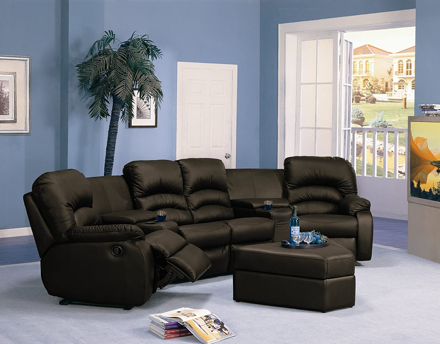 sale chairs design recliner style for rare cinema from seats home theater leather movie red expert loveseat furniture