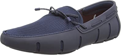 Swims Braided Lace Loafer Mocasines Hombre 43 EU Azul Navy White 048