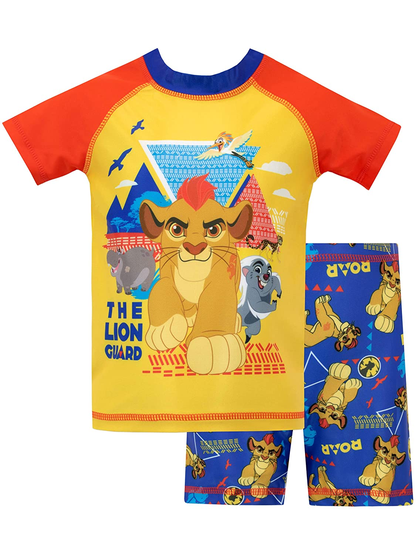 Disney Boys The Lion Guard Two Piece Swim Set