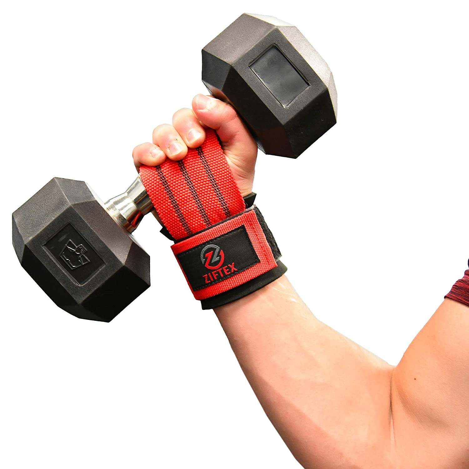 Fitness Gym Strap Wrist Wrap Hand Grip Support Heavy Weight Lifting Work Out