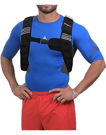 Chaleco con peso ajustable para entrenamiento de gimnasio, para correr, para pérdida de peso