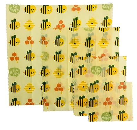 Amazon.com: UGOS - Envolturas de cera de abeja orgánica ...
