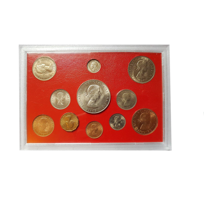 1970 United Kingdom Proof Set GEM UK Coins 8 Coins Total WITH Envelope