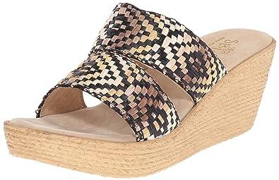 7437bdee54 Amazon.com | Sbicca Women's POMELO Wedge Sandal | Platforms & Wedges