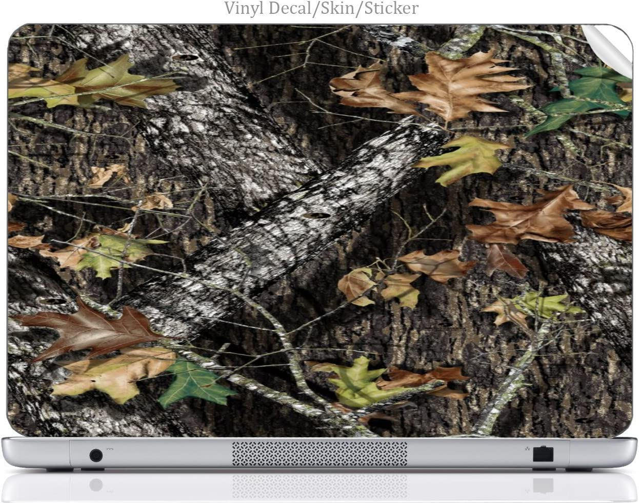 "Laptop VINYL DECAL Sticker Skin Print Mossy Oak Pattern Camo fits 15.6"" HP Pavilion (15-d038dx)"