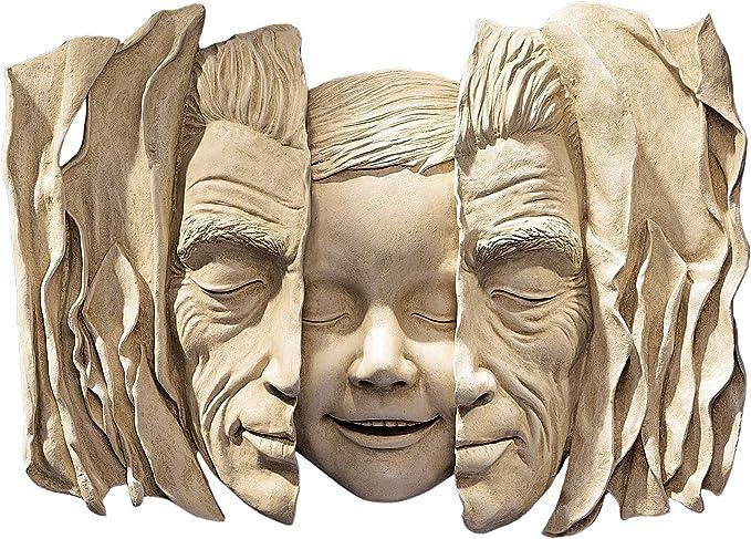 Amazon.com: Design Toscano Child at Heart Wall Sculpture,Ancient Ivory: Garden & Outdoor