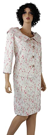 Womens Business Suit Shades Of Coral Dress Suits Skirt Suit Set