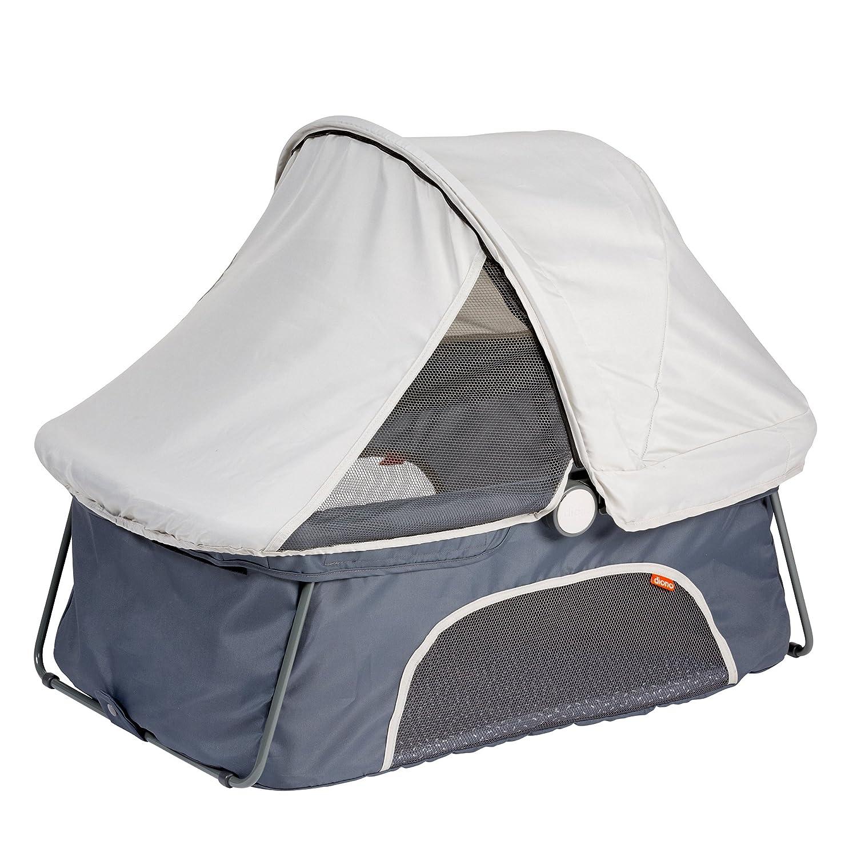 amazoncom diono dreamliner travel bassinet grey baby - Lit Nomade Bebe