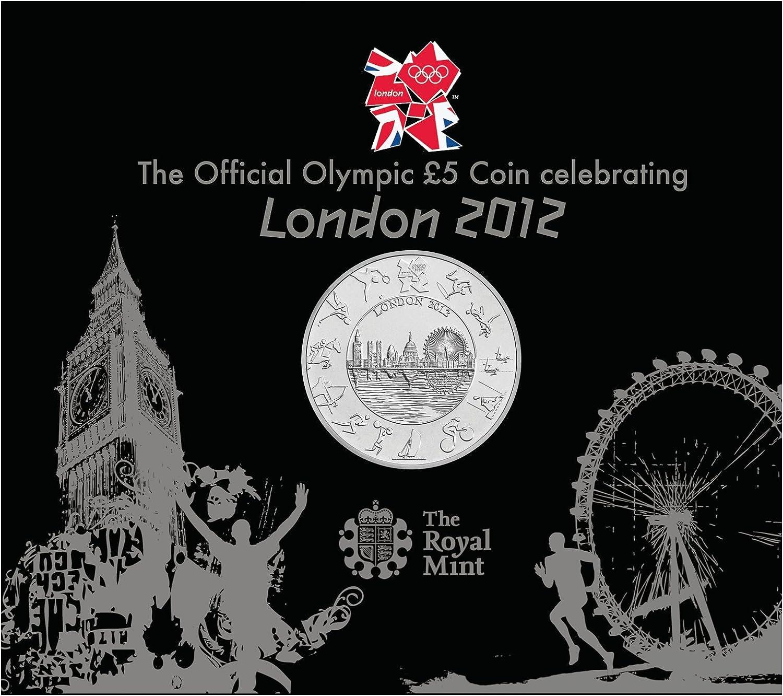 2012 CANADA 5¢ BRILLIANT UNCIRCULATED NICKEL COIN