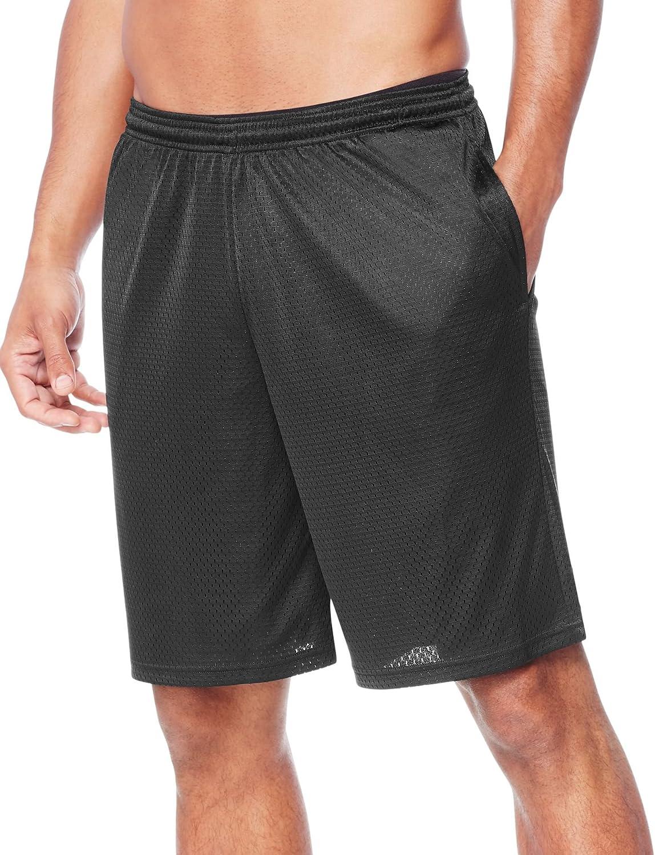 Hanes Sport Men's Mesh Pocket Short at  Men's Clothing store