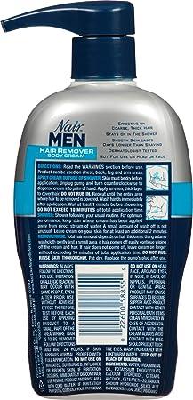Amazon Com Nair Hair Remover For Men Hair Remover Body Cream 13