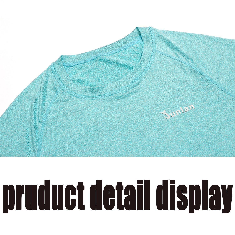 Junlan Lady Cloths Short Sleeve T-Shirt Vest Tank Top Sports Wear For Women Workout Gym Yoya Running