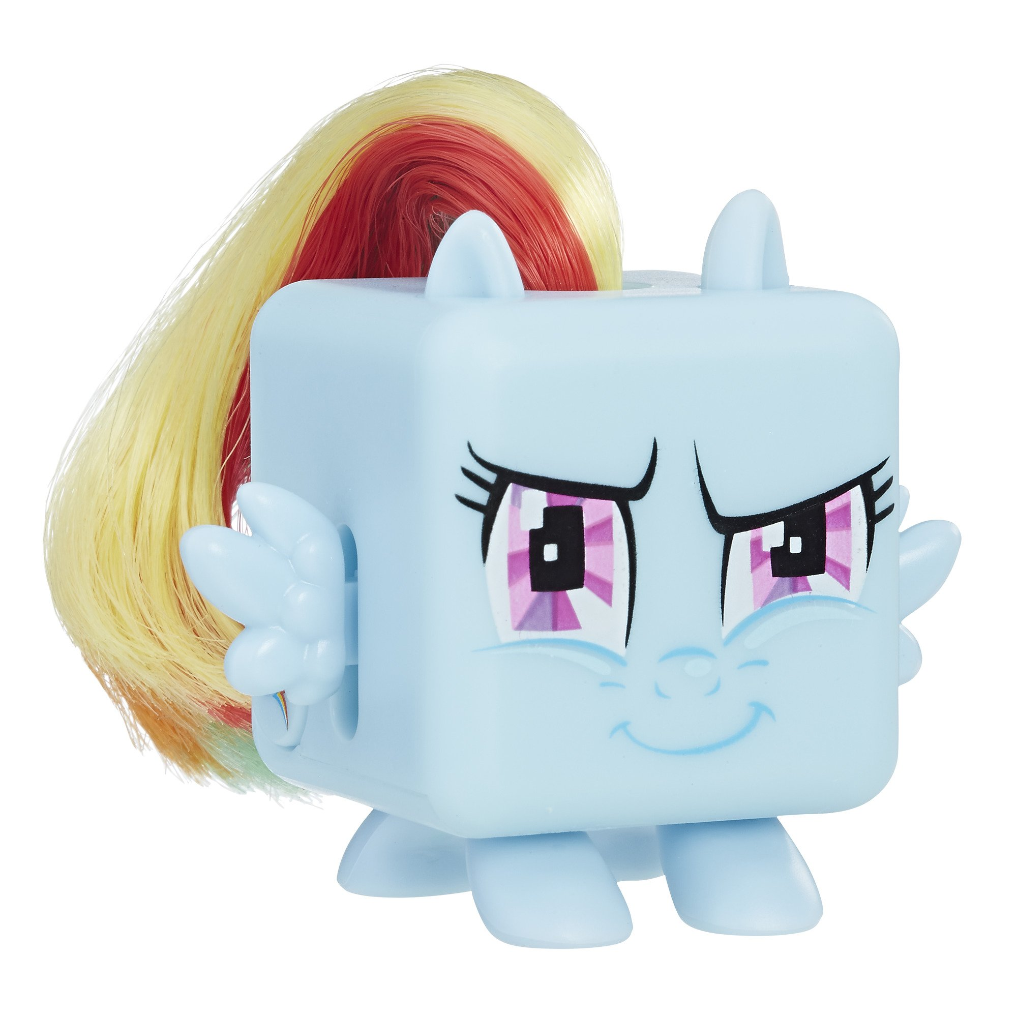 Fidget Its MLP Rainbow Dash Cube Action Figure