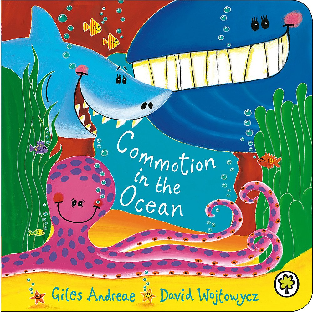 Commotion In The Ocean Board Book: Amazon.co.uk: Giles Andreae ...