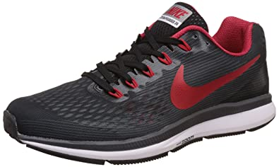 Nike Men's Air Zoom Pegasus 34 Grey Running Shoes - 10 UK/India (45